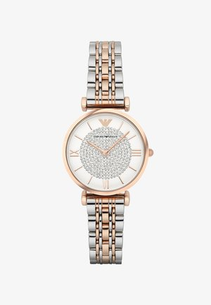 Uhr - silver-coloured/rosegold-coloured