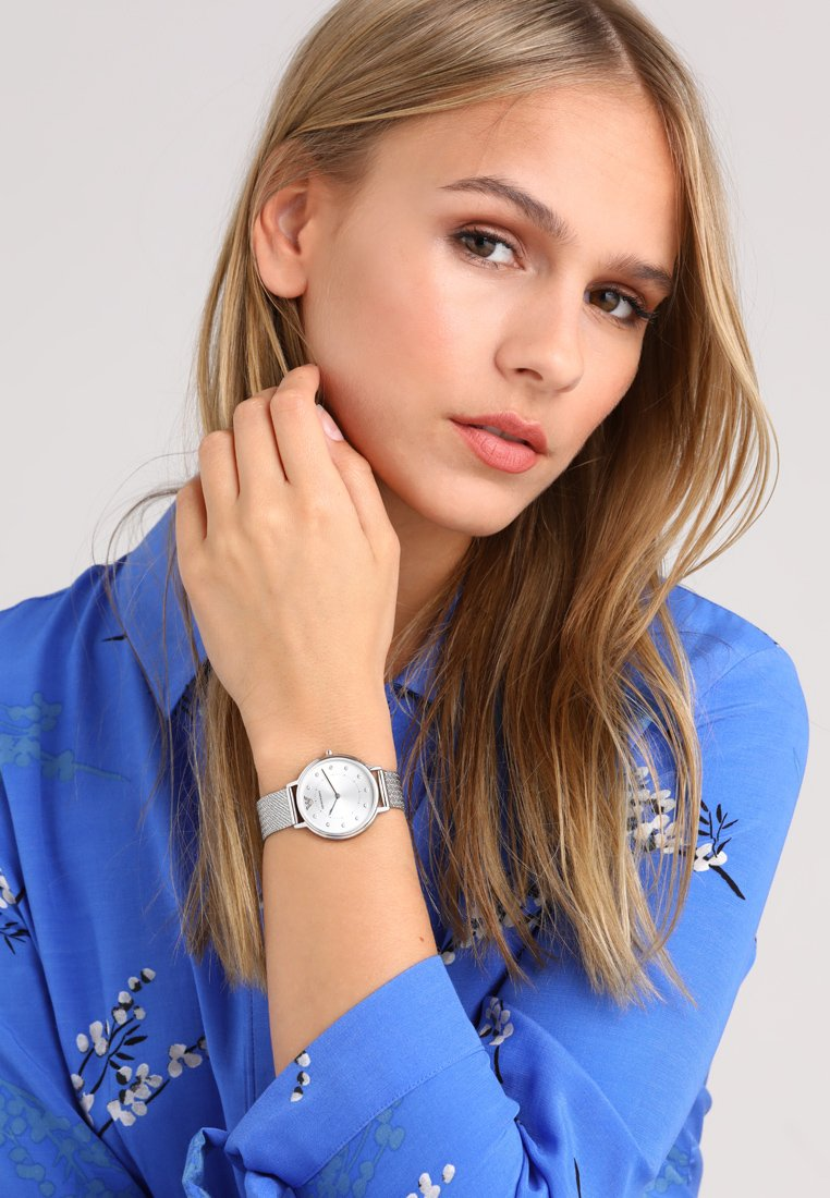 Emporio Armani - Watch - silver-coloured