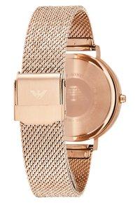 Emporio Armani - Watch - rosegold-coloured - 2