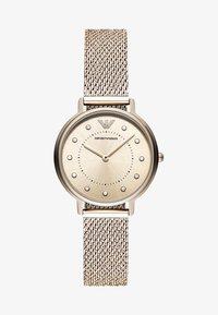 Emporio Armani - Horloge - rosegold-coloured - 1