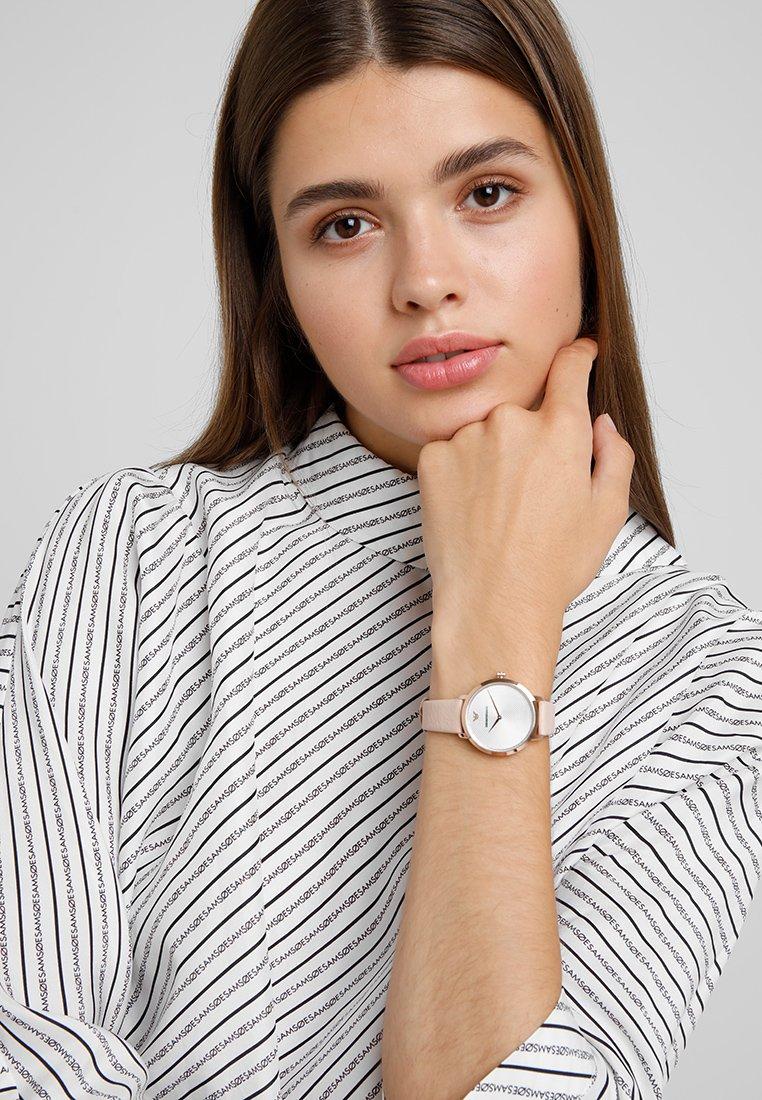 Emporio Armani - Uhr - beige