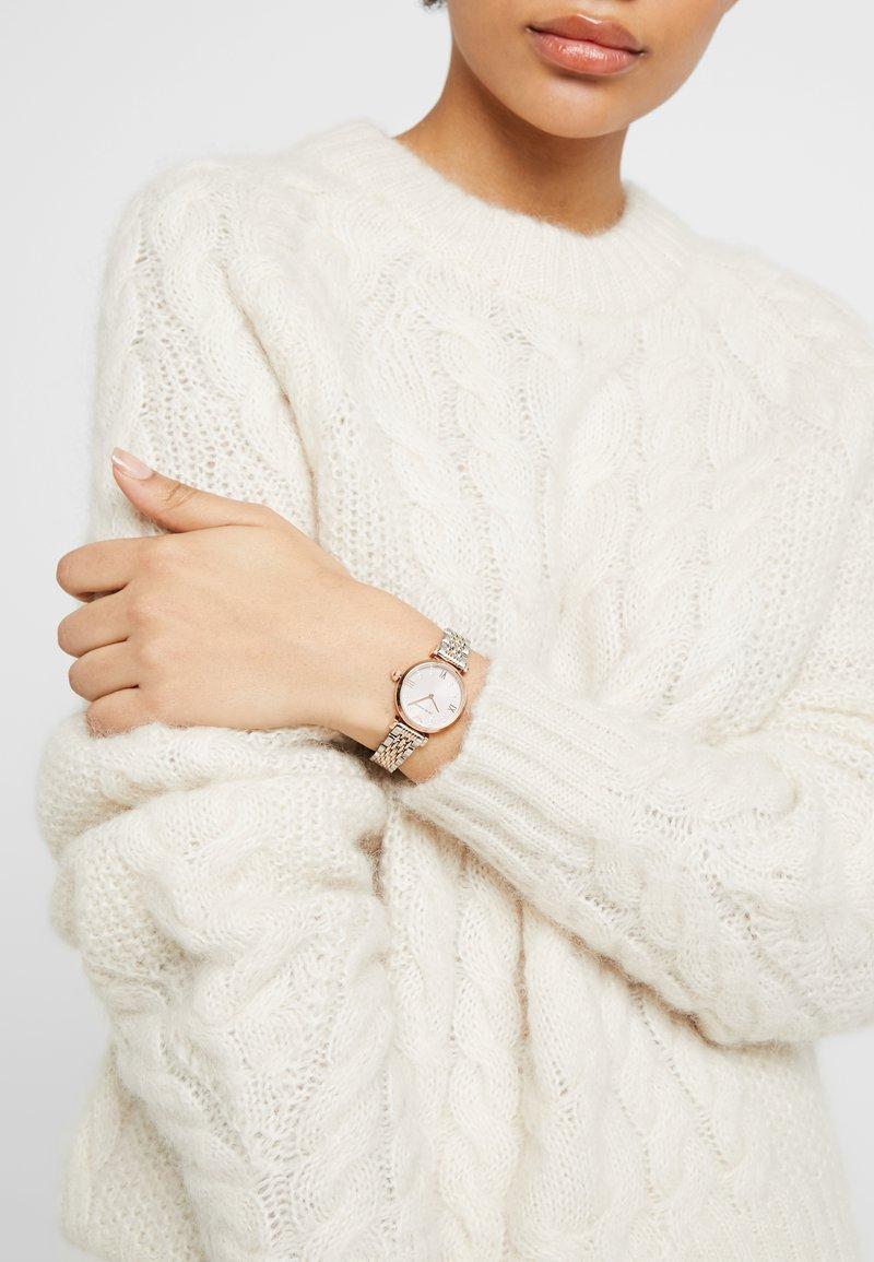 Emporio Armani - Montre - rose gold-coloured/silver-coloured