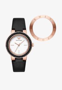 Emporio Armani - SET - Horloge - black - 1
