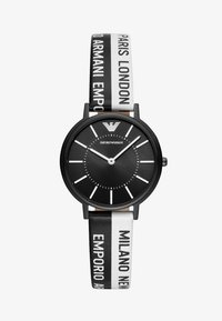 Emporio Armani - Horloge - black/white - 1