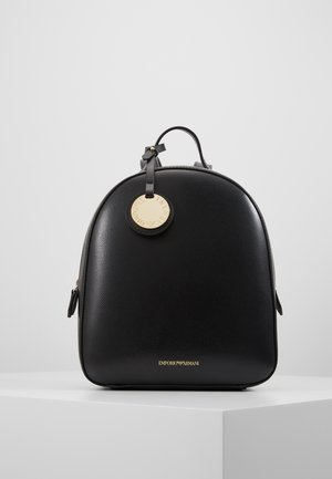 FRIDA BACKPACK MEDIUM - Reppu - nero/rosso