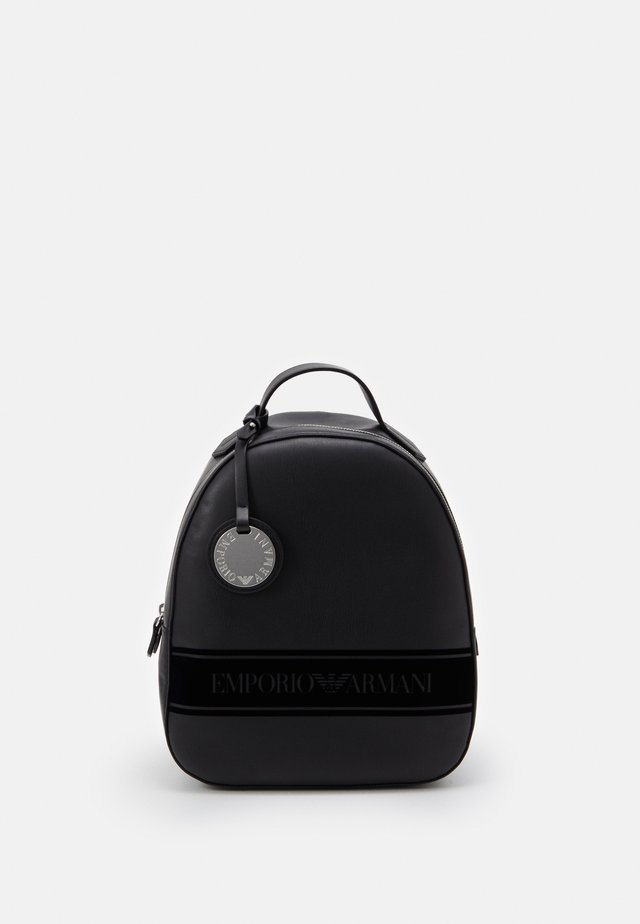 FRIDA STRIPE FLOCK BACK PACK - Rucksack - nero/black