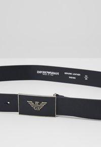 Emporio Armani - CINTURA - Belt - dark blue - 4