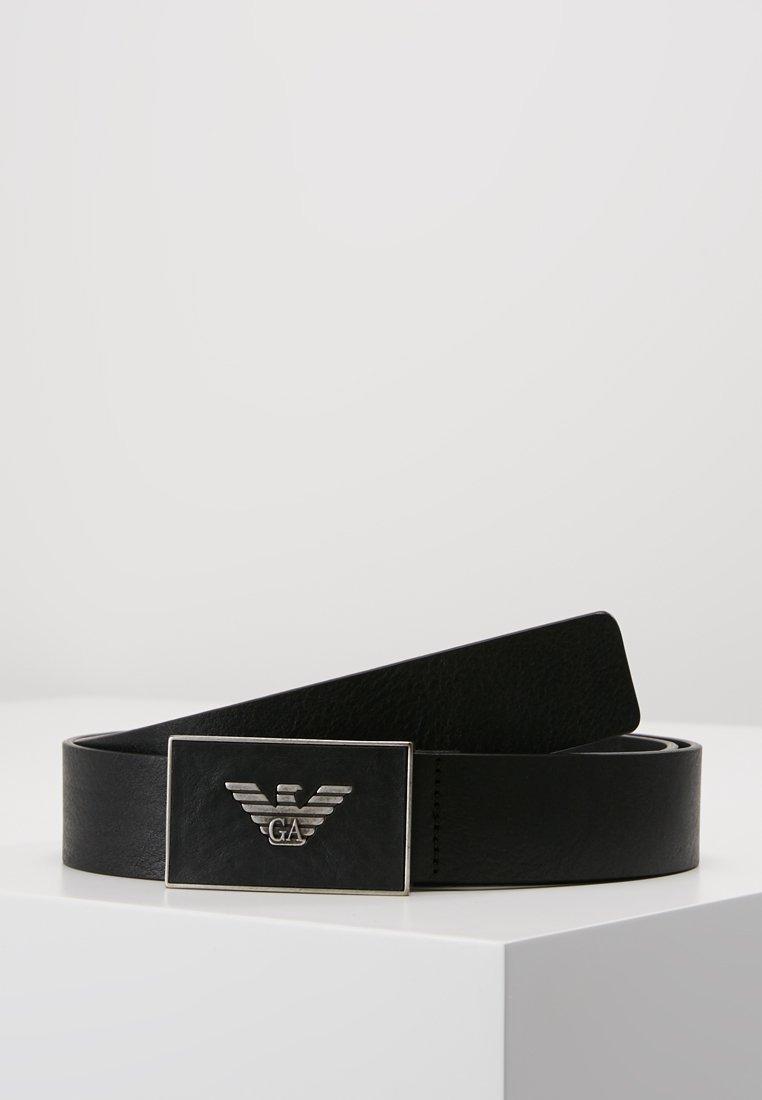 Emporio Armani - CINTURA - Belte - black
