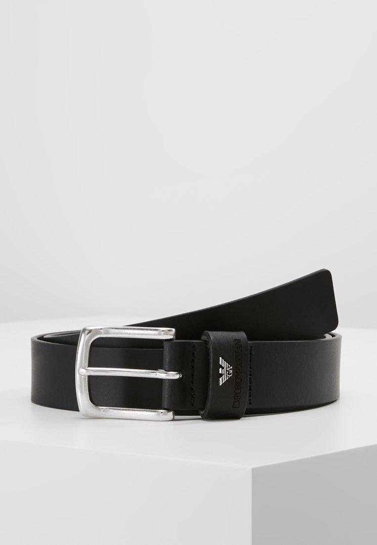 Emporio Armani - CINTURA - Cintura - black