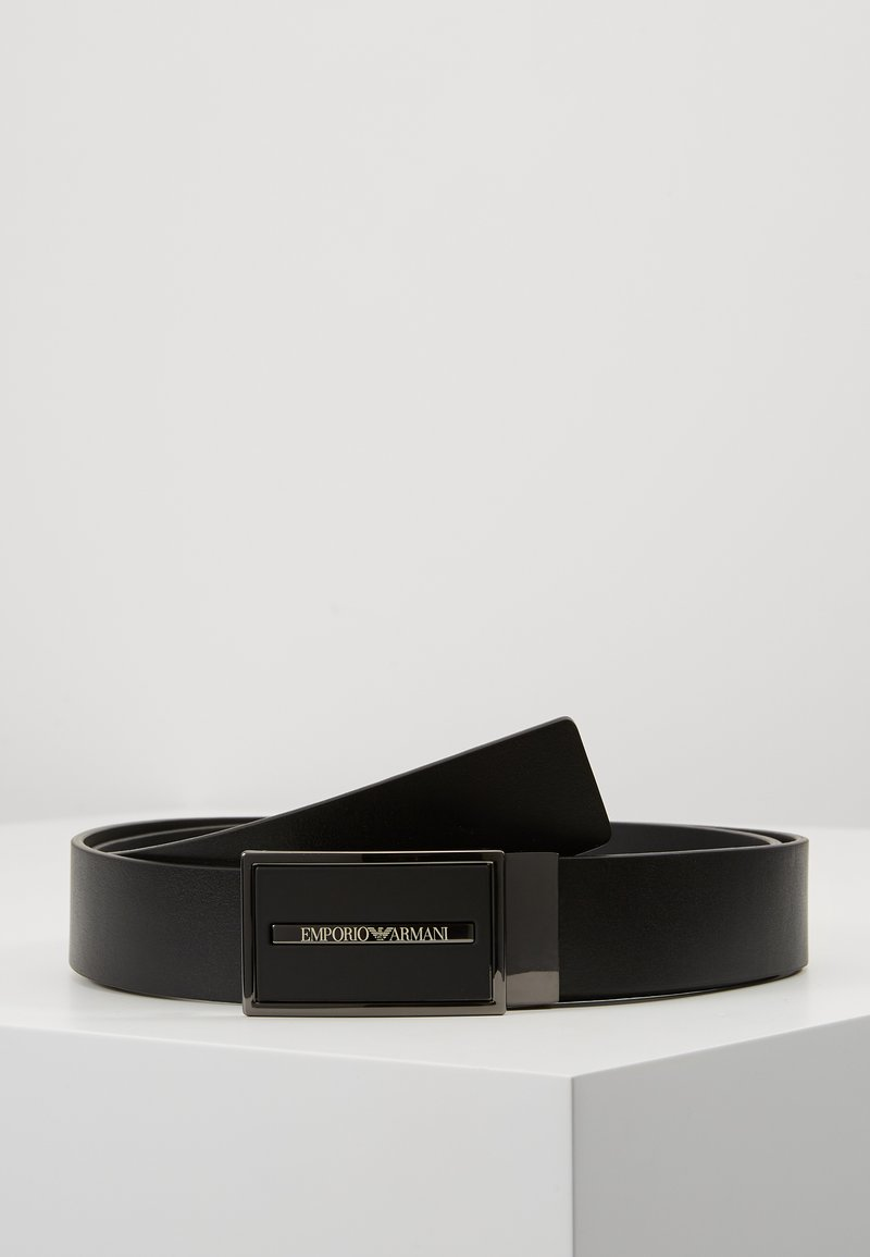 Emporio Armani - CINTURA - Belt - nero