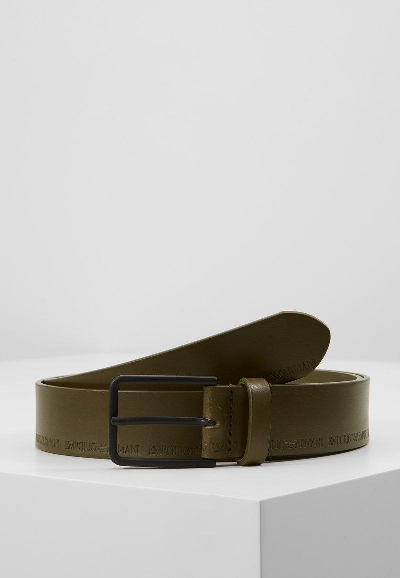 Emporio Armani - CINTURA FASHION BELT - Cinturón - militare