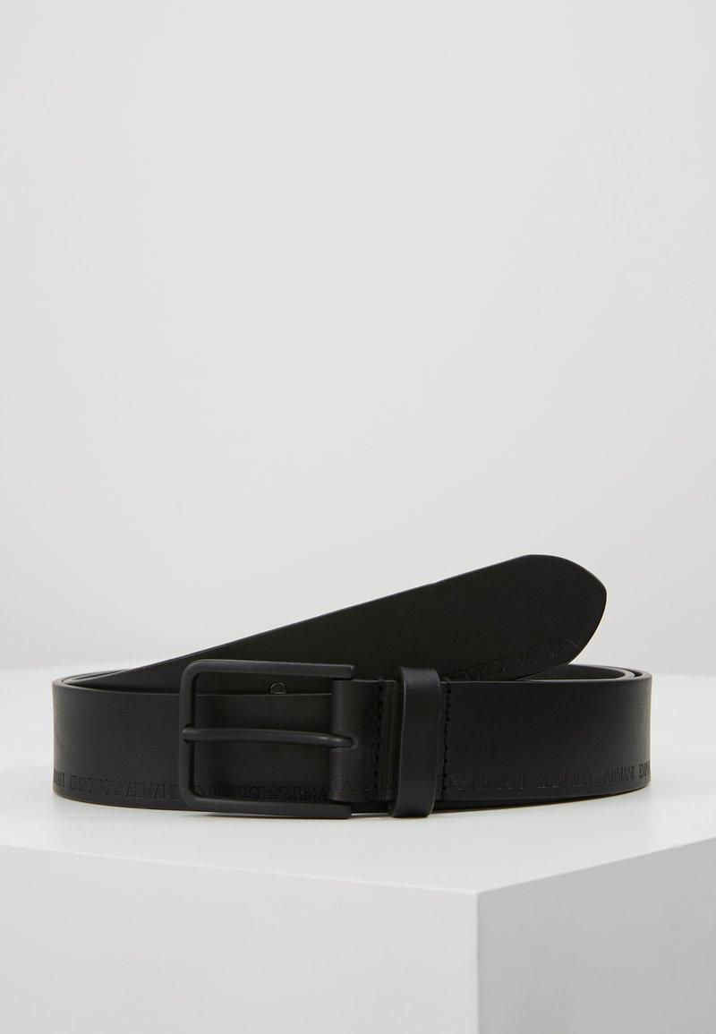 Emporio Armani - CINTURA FASHION BELT - Cinturón - nero