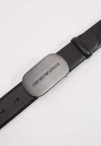 Emporio Armani - Belt - nero - 4