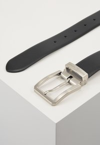 Emporio Armani - Belt business - nero/grigio - 2