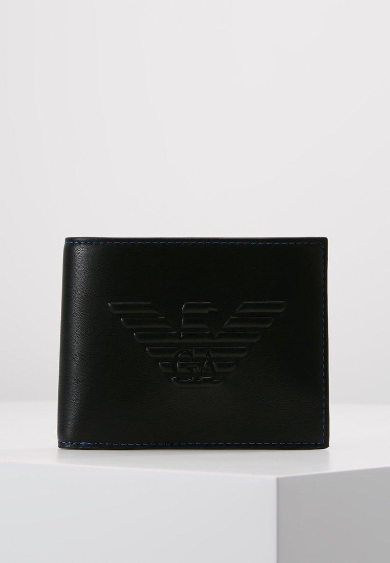Emporio Armani - PORTAFOGLIO - Geldbörse - black