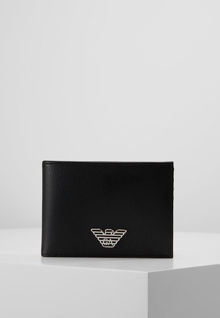 Emporio Armani - PORTAFOGLIO - Peněženka - black