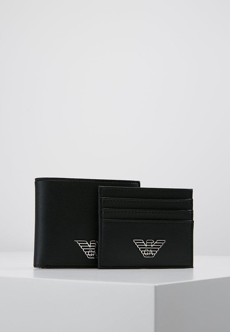 Emporio Armani - SET - Peněženka - black