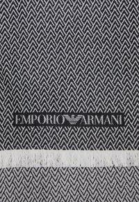 Emporio Armani - STOLE  - Sciarpa - nero/black - 3