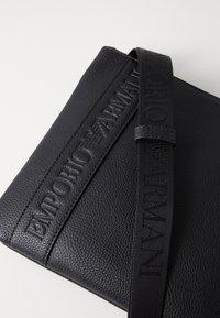 Emporio Armani - PIATTINA PICCOLA - Across body bag - nero - 3