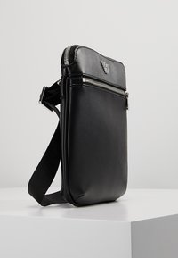 Emporio Armani - BORSA MESSENGER - Across body bag - black/black - 3
