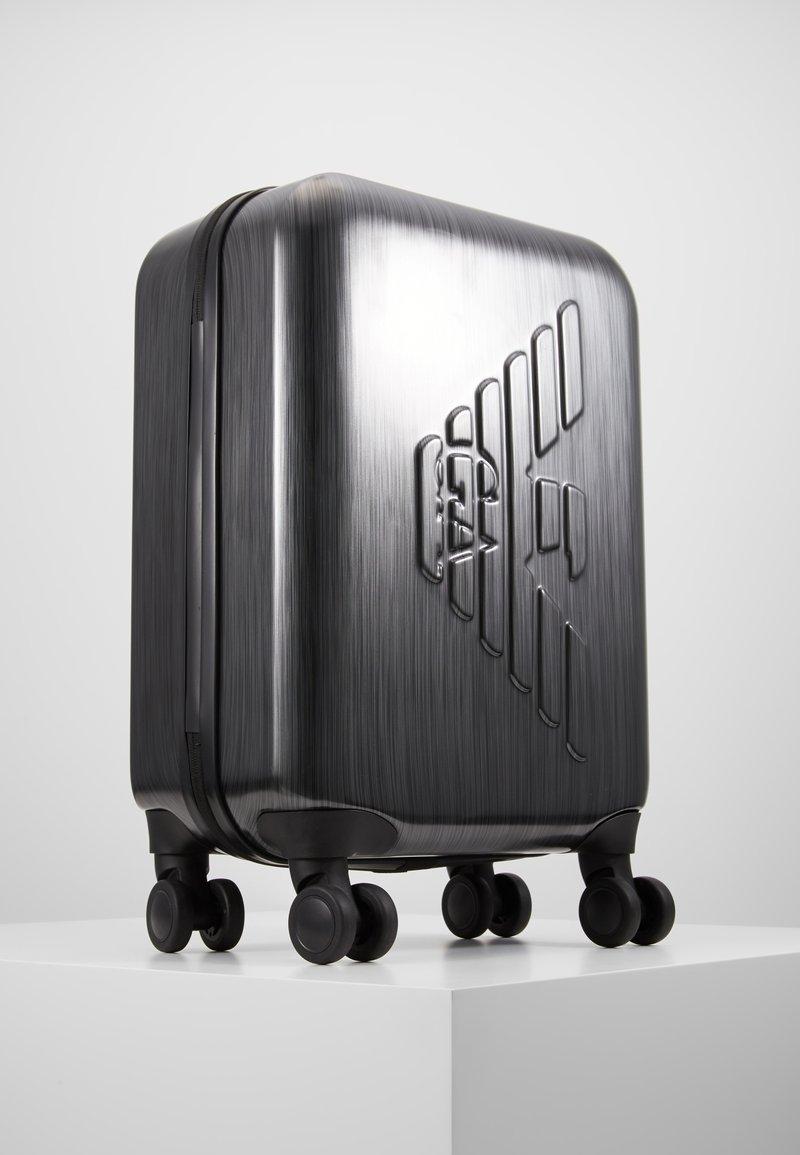 Emporio Armani - CABIN TROLLEY  - Wheeled suitcase - grey