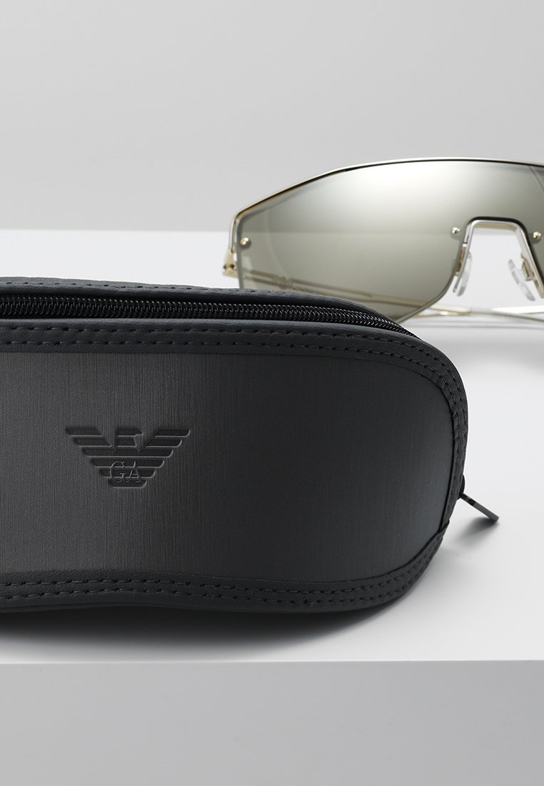 Emporio Armani - Sonnenbrille - pale gold-coloured/light brown/mirror gold-coloured