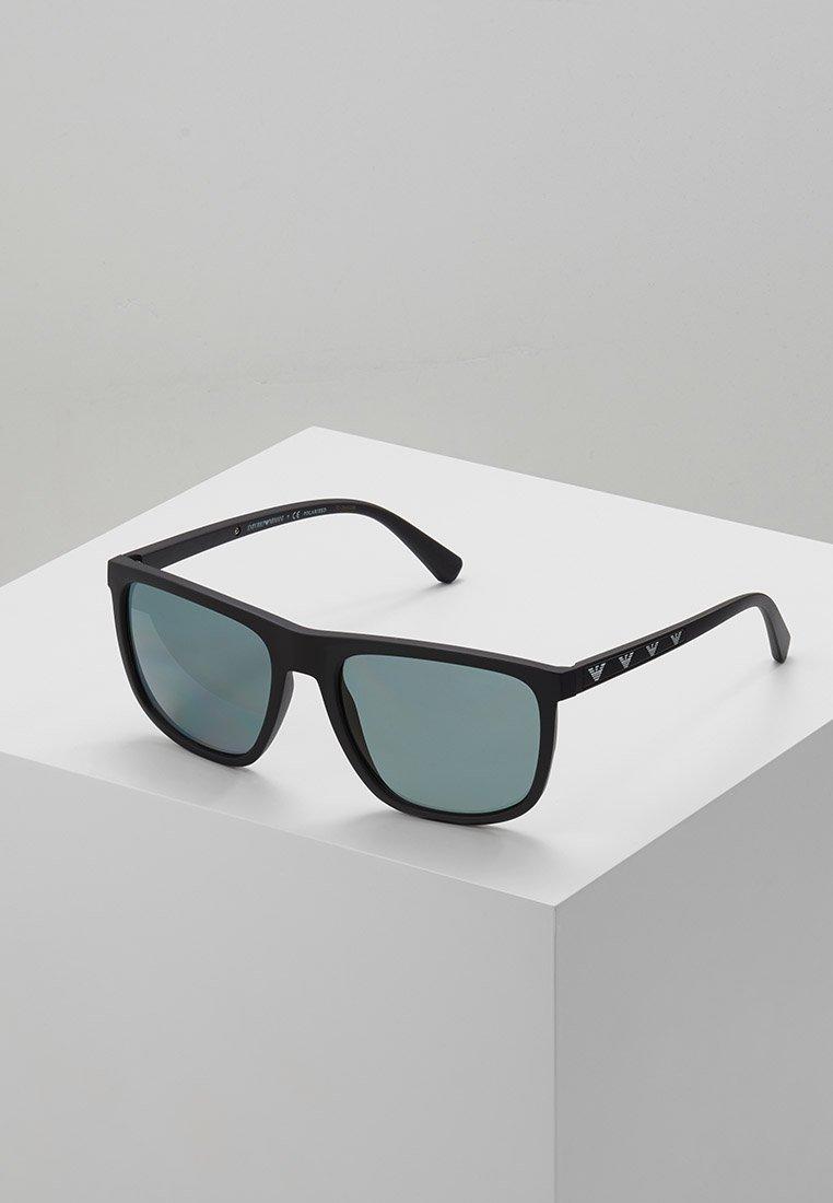 Emporio Armani - Solbriller - matte black/polar grey