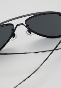 Emporio Armani - Solbriller - matte black - 4