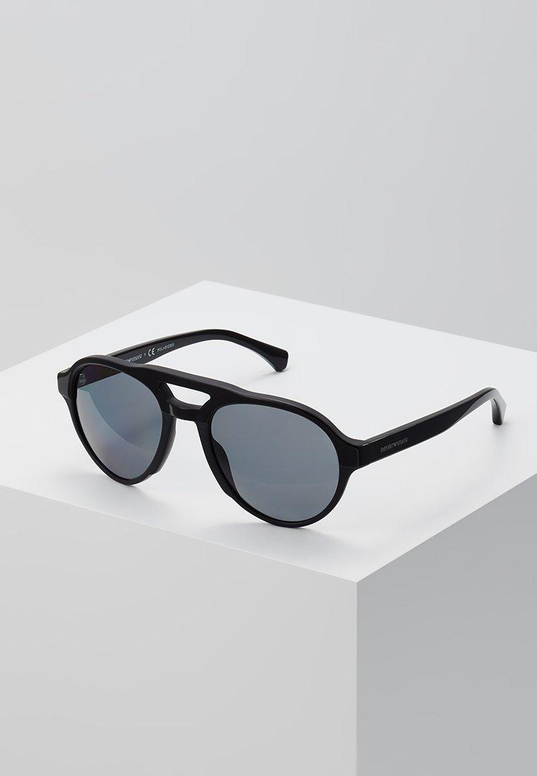 Emporio Armani - Sunglasses - black/matte black