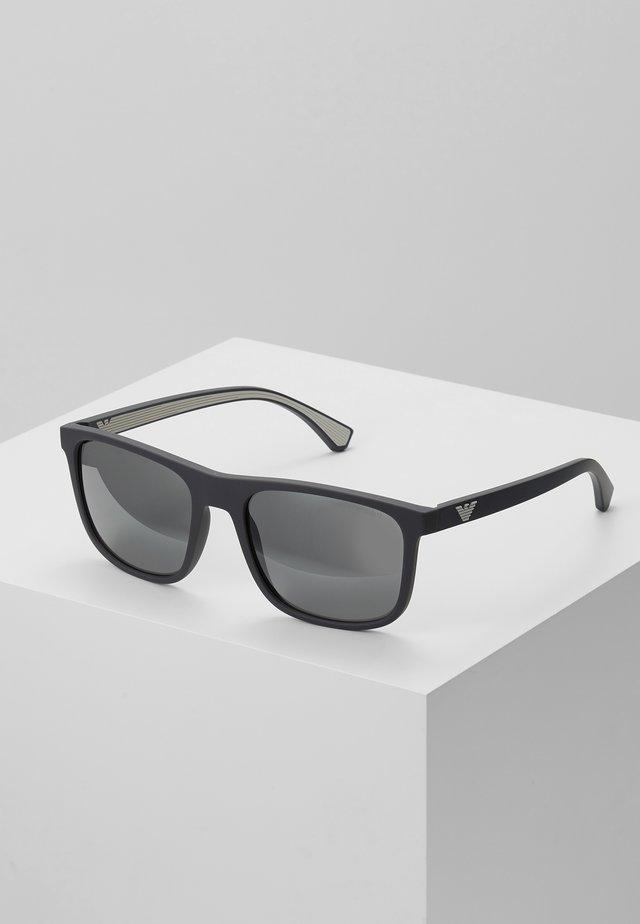 Aurinkolasit - matte grey / grey mirror silver