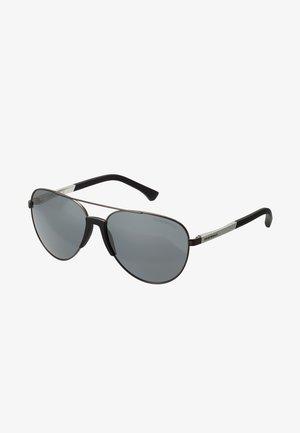 Gafas de sol - matte gunmetal/ light grey