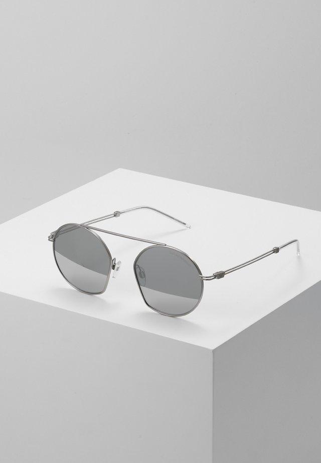 Sonnenbrille - matte silver-coloured
