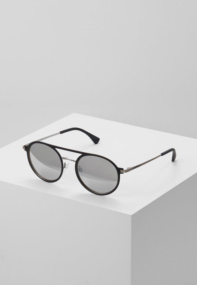 Sonnenbrille - matte black/matte silver