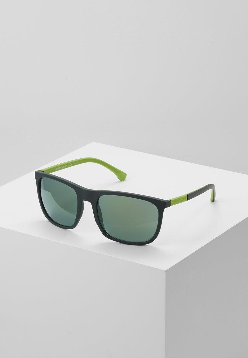 Emporio Armani - Solbriller - green rubber