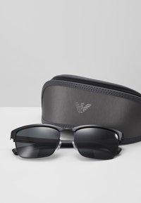 Emporio Armani - Sunglasses - matte black - 2