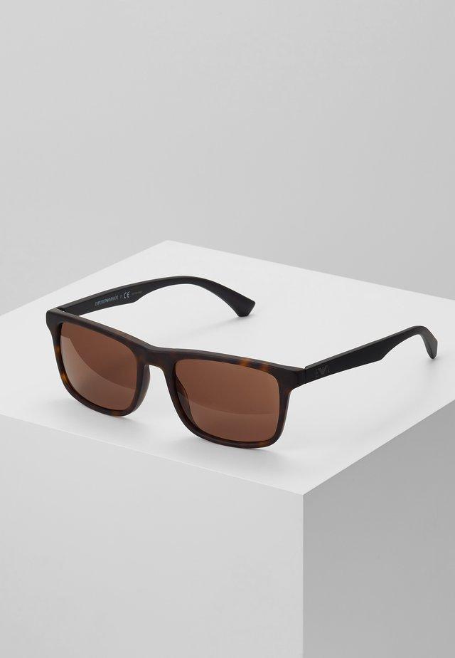 Sonnenbrille - matte havana