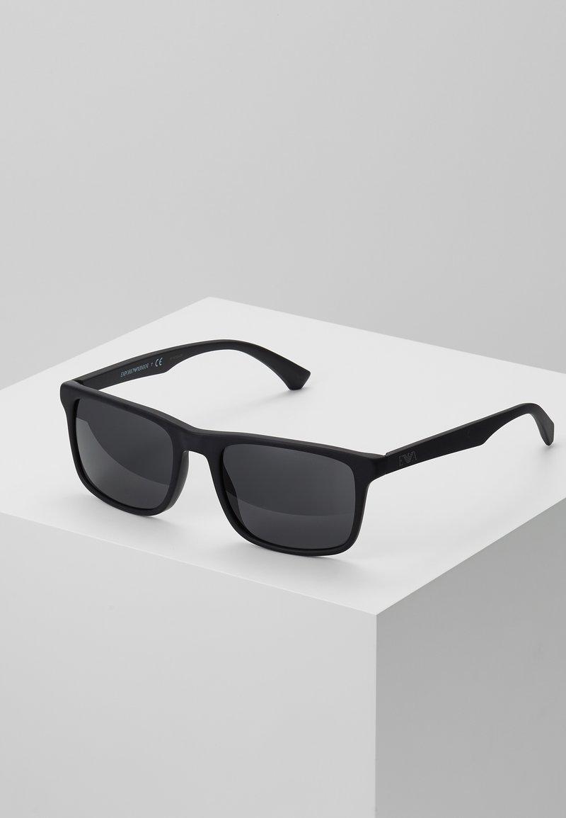 Emporio Armani - Okulary przeciwsłoneczne - matte black