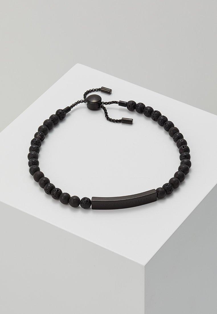 Emporio Armani - Armband - schwarz