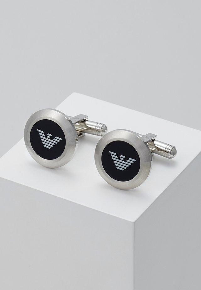 Spinka do mankietów - silver-coloured