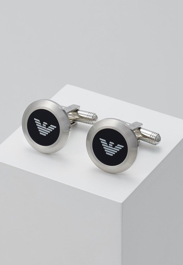 Emporio Armani - Manchetknoop - silver-coloured