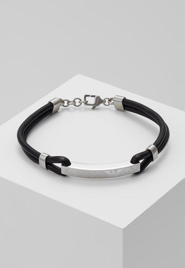 Armband - black/silber-coloured
