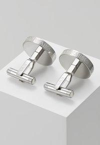 Emporio Armani - Boutons de manchette - silver-coloured - 2