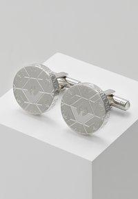 Emporio Armani - Boutons de manchette - silver-coloured - 0