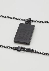 Emporio Armani - Necklace - black - 2