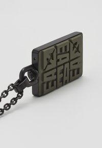 Emporio Armani - Necklace - black - 5