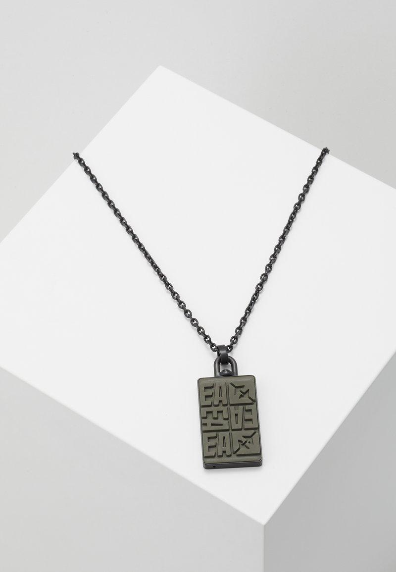 Emporio Armani - Necklace - black