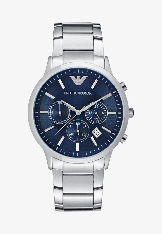 Kronografklockor - silver-coloured
