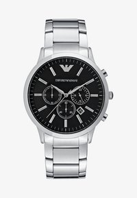 Emporio Armani - Zegarek chronograficzny - silver-coloured - 1