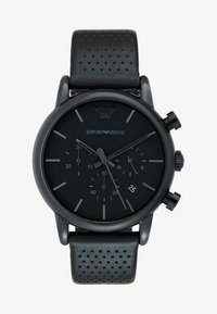 Emporio Armani - Kronograf - black - 1