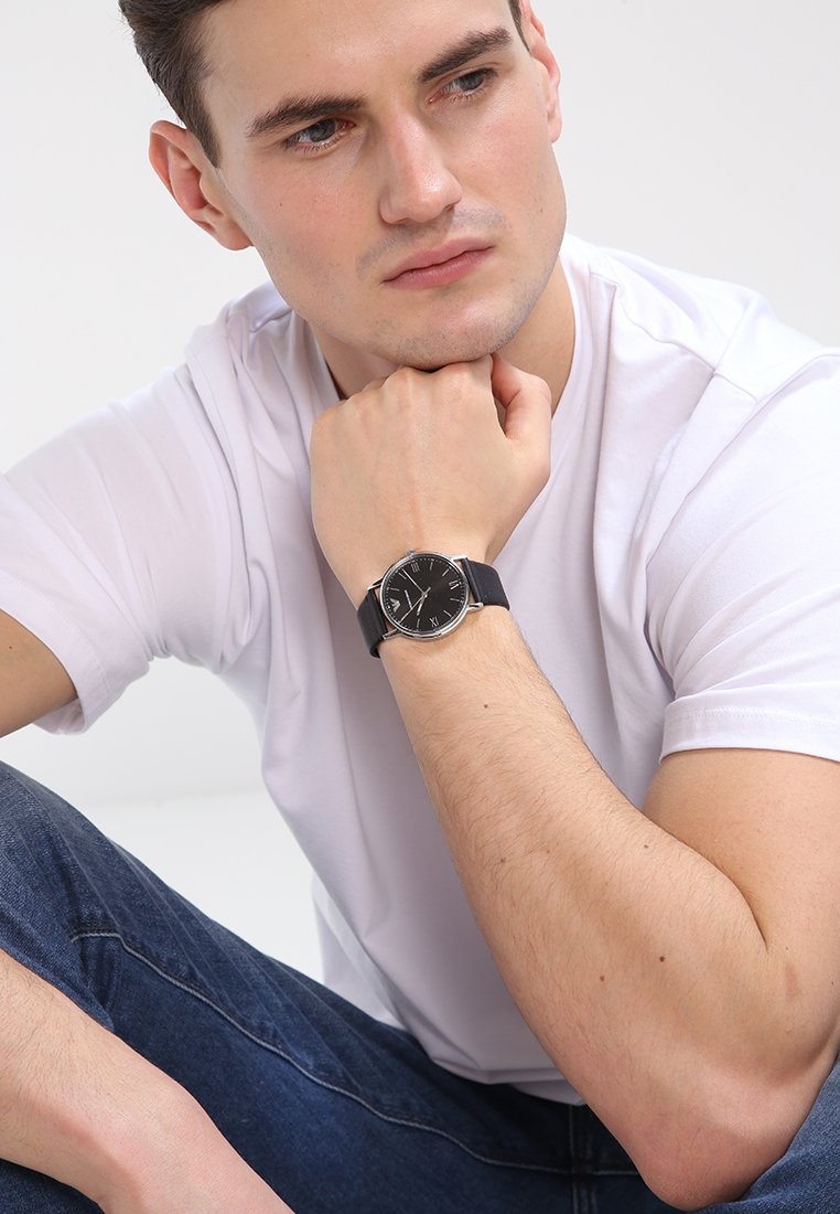 Emporio Armani - Watch - schwarz